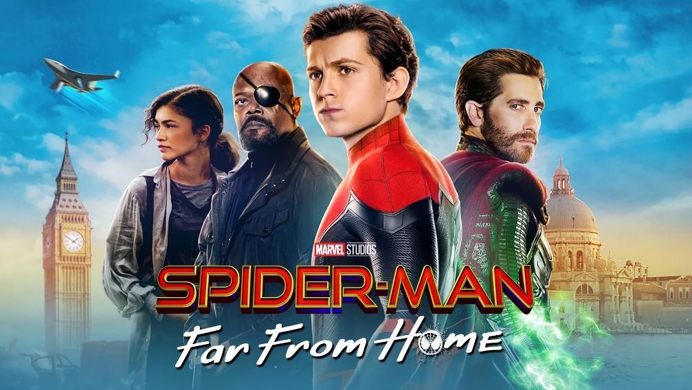 Spider – Man: Μακριά από τον Τόπο του – Α' Τηλεοπτική Προβολή
